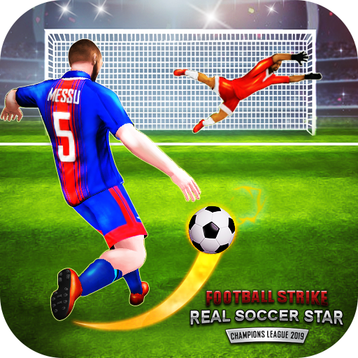 Grve du football Real Soccer Star Ligue Champions APK MOD