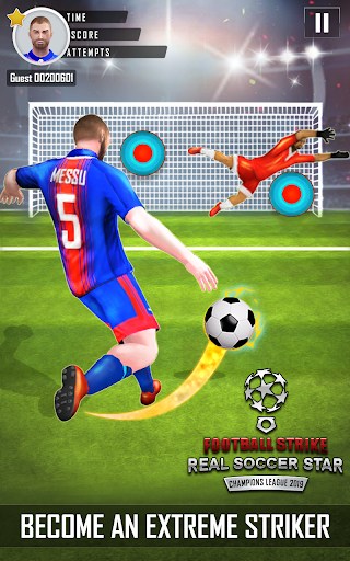 Grve du football Real Soccer Star Ligue Champions screenshots 1