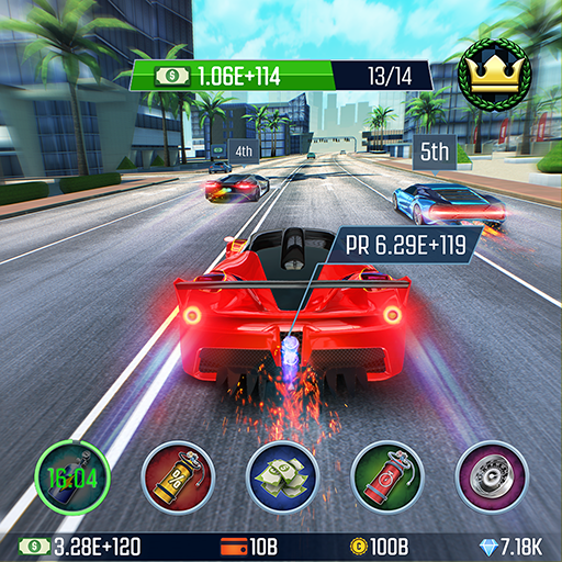 Idle Racing GO Clicker Tycoon Tap Race Manager APK MOD