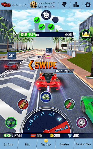 Idle Racing GO Clicker Tycoon amp Tap Race Manager screenshots 1