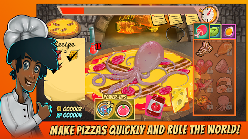 Pizza Mania Cheese Moon Chase screenshots 1